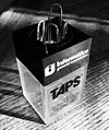 Informatics General Corporation TAPS Division magnetic paperclip holder.jpg
