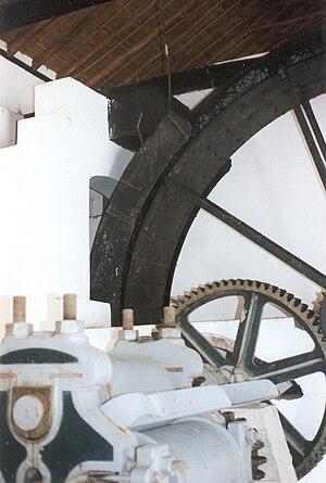 San Mateo, Aragua - The sugar cane mill mechanism in Ingenio Bolívar.