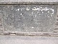 Inscription on Skenfrith bridge - geograph.org.uk - 373455.jpg