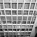 Interieur, begane grond, linker voorkamer, plafond, beschilderde moerbalken - 20000804 - RCE.jpg