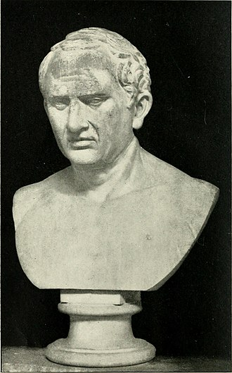 Pro Caelio - A bust of Cicero, depicted at the age of around 60