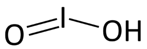 Iodous acid - Image: Iodige Saeure