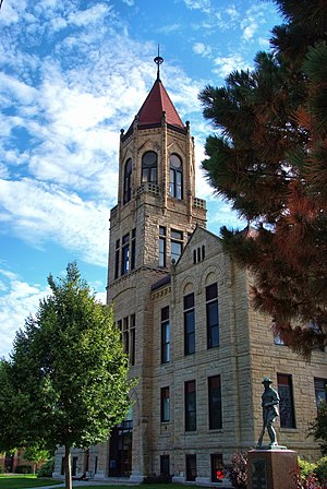 Iowa County, Iowa - Image: Iowa County Courthouse, Marengo
