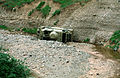 Iraqi BRDM-2 in a ditch during Operation Provide Comfort.JPEG