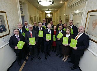 Government of the 31st Dáil - Members of the Government of the 31st Dáil