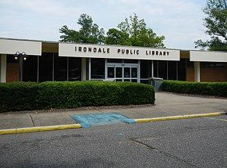Irondale, Alabama - Image: Irondale, AL Public Library
