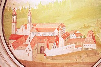 Irsee Abbey - Irsee Abbey in 1771