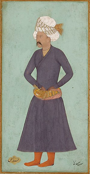 Military of the Safavid dynasty - Painting of Isa Khan Safavi, a notable Safavid prince who served as the qurchi-bashi.