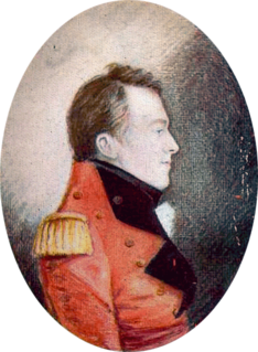 British army officer and administrator, Lieutenant Governor of Upper Canada