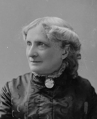 Isabella Beecher Hooker - Isabella Beecher Hooker portrait by C. M. Bell Studio