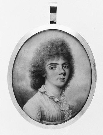 Isabella Beetham - Isabella Beetham, Miss Chambers, ivory miniature portrait, after 1782, Metropolitan Museum of Art
