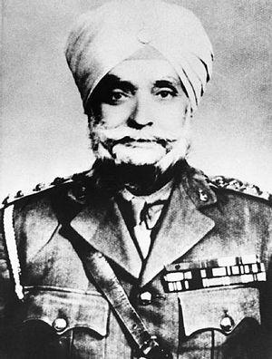 28th Punjabis - Image: Ishar Singh VC