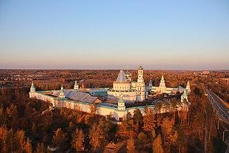 New Jerusalem Monastery - The monastery under reconstruction (2014).