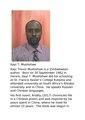 Itayi T. Mushohwe, novelist.pdf