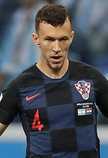 5a59a83a5 Ivan Perišić (cropped).jpg. Perišić with Croatia at the 2018 FIFA ...