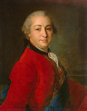 Ivan Shuvalov - Ivan Shuvalov in 1760, as painted by Fyodor Rokotov