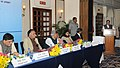 J.P. Nadda addressing at the signing ceremony of an MoU between Govt. of Himachal Pradesh, NTPC Ltd. and NHPC for setting up of Hydro Engineering College in Himachal Pradesh, in New Delhi.jpg