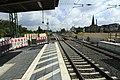 J29 962 Bf Neubeckum, Bahnsteigtunnel im Bau.jpg