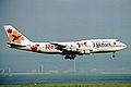 JA8186 2 B747-346 JALways(Resocha Okinawa) KIX 19MAY03 (8401740544).jpg