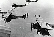 JN-4s Kelly Field 1918