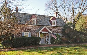 National Register of Historic Places listings in Bergen County, New Jersey - Image: JOHN G. ACKERSON HOUSE, PARK RIDGE, BERGEN COUNTY, NJ