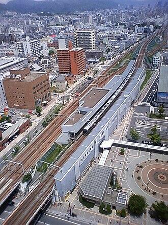 Shin-Nagata Station - JR West station profile