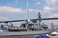JS Setoyuki departs Osaka for the Open Exercise 2011, -25 Sep. 2011 b.jpg