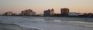 Jacksonville Beaches human settlement in United States of America