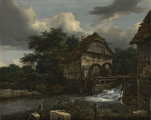 Two Watermills and an Open Sluice