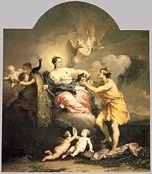 Jacopo Amigoni: Juno Receiving the Head of Argos