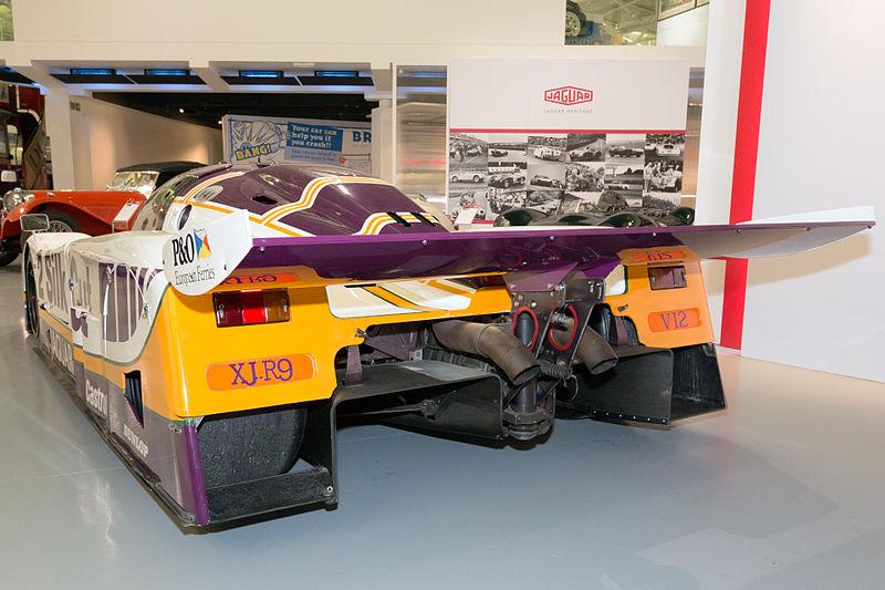 File Jaguar Xjr 9 Lm Rear Heritage Motor Centre Gaydon