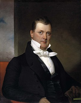1834 portrait of Buchanan at age 42-43 by Jacob Eichholtz James Buchanan painted by J. Eichholtz.jpg