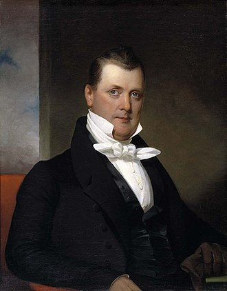 James Buchanan - 1834 portrait of Buchanan by Jacob Eichholtz