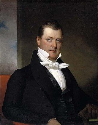James Buchanan - 1834 portrait of Buchanan by Jacob Eichholtz