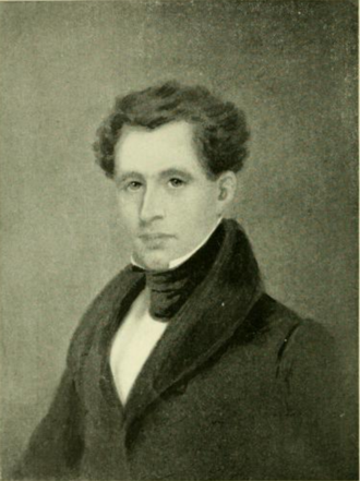 James Gates Percival - Portrait of James Gates Percival, said to be painted by his brother