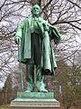 James W. Beardsley Monument (1909), Beardsley Park, Bridgeport, CT - April 2016.JPG