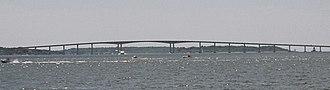 Jamestown, Rhode Island - The Jamestown-Verrazano Bridge, constructed in 1992, connects Jamestown with mainland Rhode Island