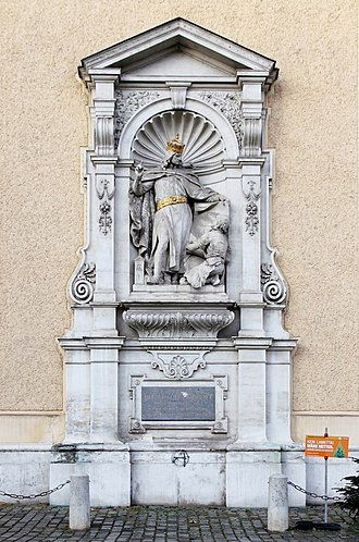 Schottenstift - Monument of Henry II of Austria, called Jasomirgott
