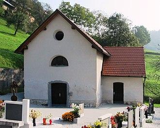 Javor, Ljubljana - Cemetery chapel (former church)