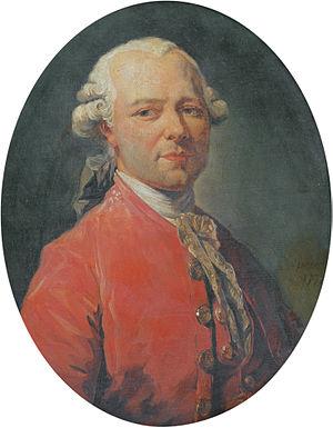 Jean-Pierre Houël - Portrait of Jean-Pierre Houël by François-André Vincent