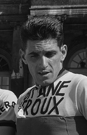 Jean Forestier - Forestier at the 1962 Tour de France