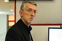 American journalist Jeff Jarvis at the 2008 Wo...