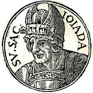 """Jehoiada - Jehoiada from """"Promptuarii Iconum Insigniorum """""""