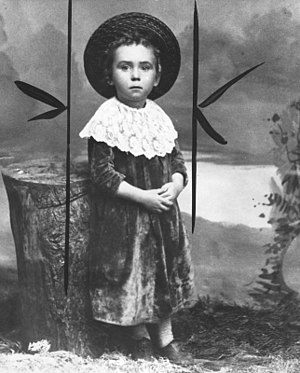 Jerry Giesler - Jerry Giesler as a child, c. 1888