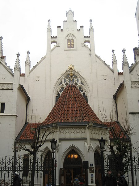 File:Jewish Synagogue in Prague Czech Rep.jpg