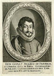 Gómez Suárez de Figueroa y Córdoba, 1st Duke of Feria Spanish duke
