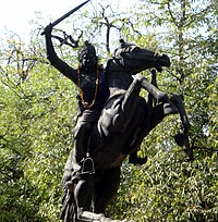 Jhalkaribai Statue at Gwalior.jpg