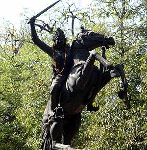 Jhalkaribai - Statue of Jhalkaribai in Gwalior