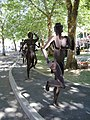 Jogging sculptures, Riverfront Park (10507878513).jpg