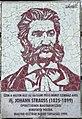 Johann Strauss plaque Budapest05.jpg